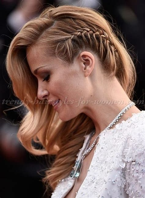 side swept hairstlyes older elebrities 20 hot and chic celebrity short hairstyles side plait