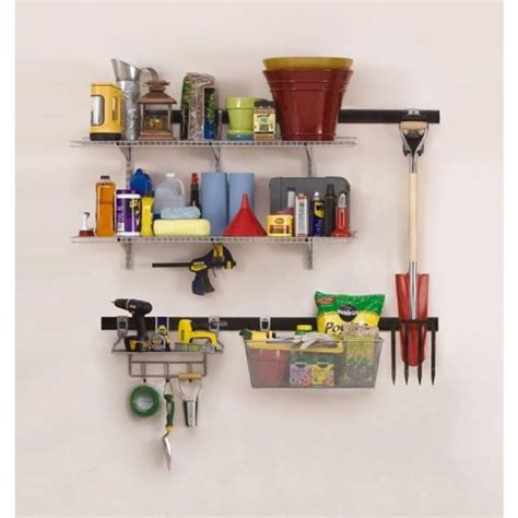 Home Design Simple Rubbermaid Fasttrack 25 Best Ideas About Rubbermaid Garage Storage On