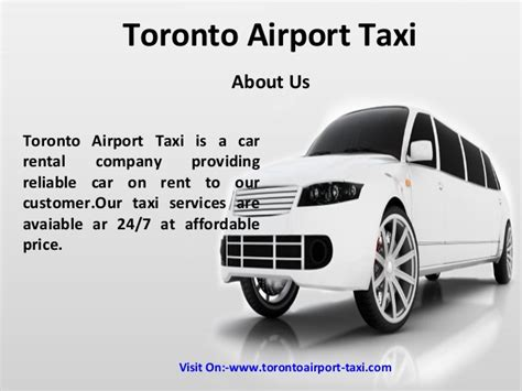 Limousine To Airport by Airport Taxi To Toronto Toronto Limousine To Airport