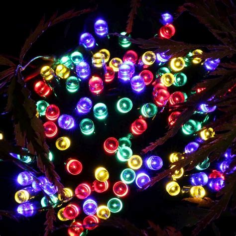 multi color solar lights 100 led solar lights multi colour buy at qd stores