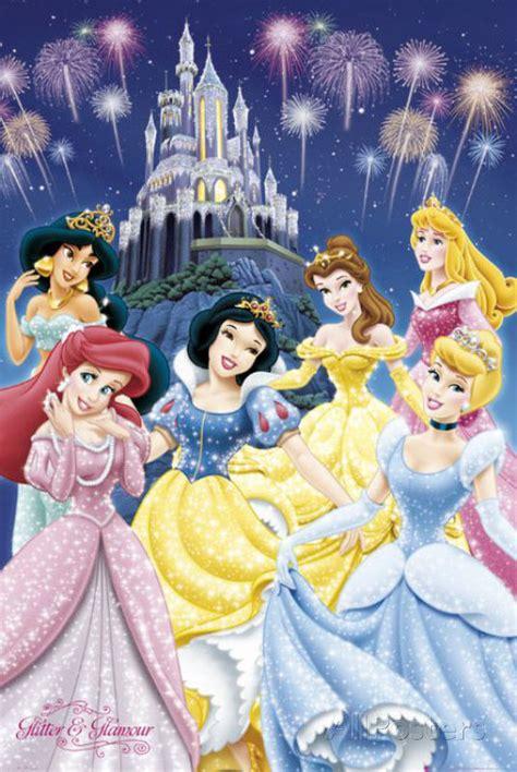 Disney Princess Pictures To Print Disney Princess Poster Print 24x36 Ebay