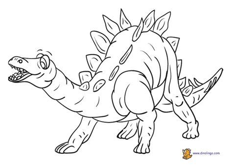 dinosaur coloring sheet dino lingo blog
