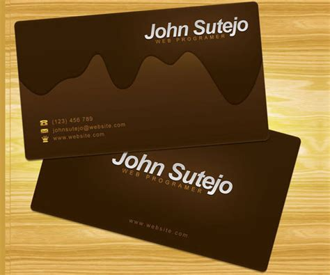 how to make business cards on photoshop business cards tutorials and exles i2mag trending