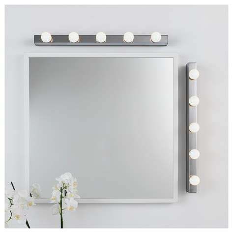 Musik Wall L Wired In Installation Chrome Plated Ikea Ikea Bathroom Wall Lights