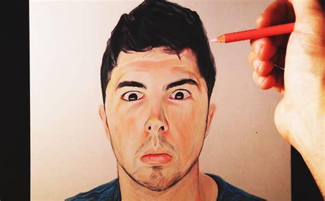 imagenes ojos abiertos dibujando a youtubers willyrex con los ojos abiertos