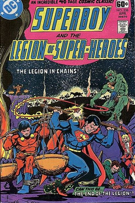 superboy and the legion of heroes vol 2 superboy and the legion of heroes vol 1 238 dc