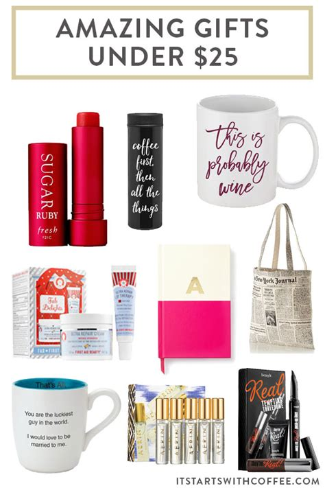 gifts under 25 amazing gifts under 25 it starts with coffee a