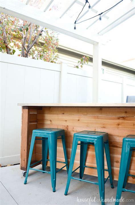 outdoor kitchen island build plans houseful  handmade