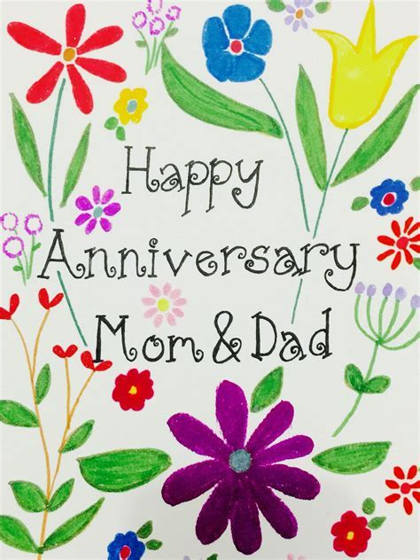 Happy anniversary mom and dad!   Artsy Joy   Happy