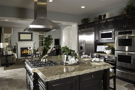 Kitchen Cabinets Color Schemes by 37 High End Dark Wood Kitchens Photos Designing Idea