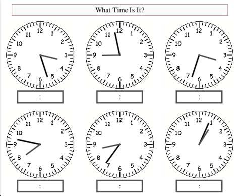 printable interactive clock free worksheets 187 blank clock face printable free math