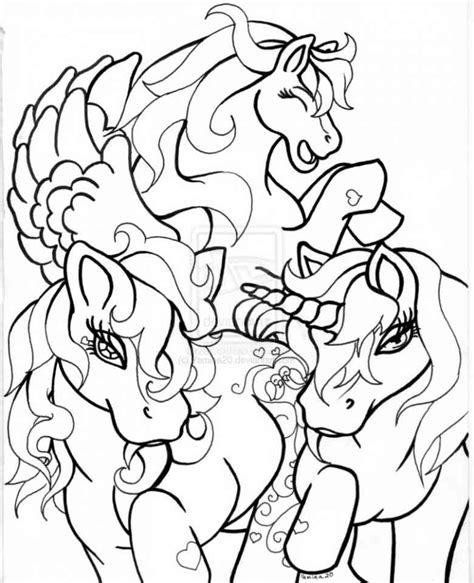 mlp coloring pages fillies filly 21 ausmalbilder 123
