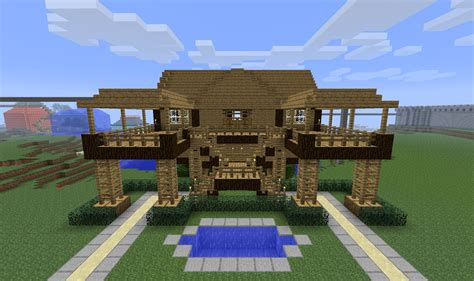 Houses On Minecraft by Minecraft House On Top Of Bearded Steve Description From