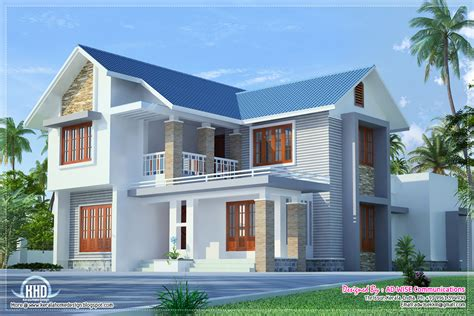 home design exteriors three fantastic house exterior designs kerala home