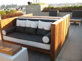 modern backyard furniture want to make this and use my 2 crib mattresses for seat