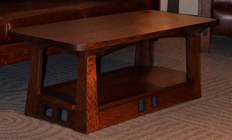 coffee table styling arts and crafts style coffee table www pixshark com