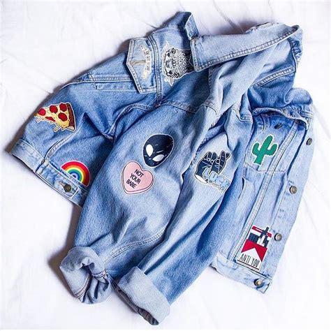 Bomber Galaxy By B Grace best 25 jean jackets ideas on leopard print