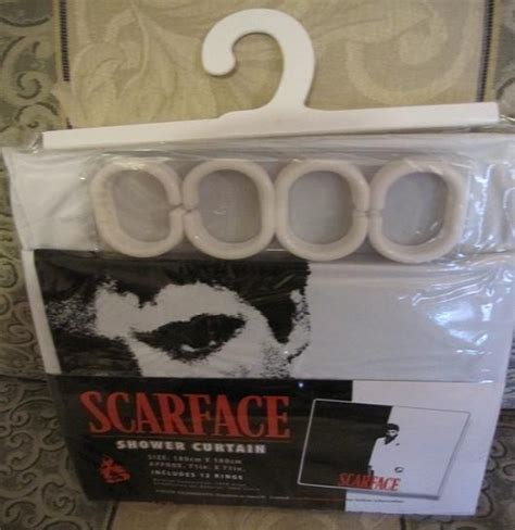 scarface shower curtain new scarface movie tony montana gift shower bath curtain