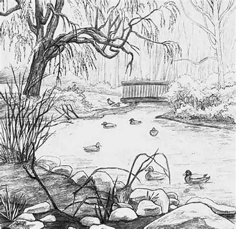 ideas for landscape drawing pdf