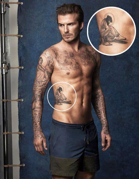 foto i tatuaggi di beckham tutti i significati radio deejay