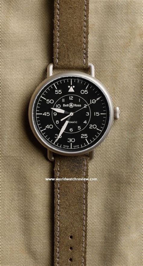 Bell Ross Simple White bell ross vintage ww1 92 heritage world review
