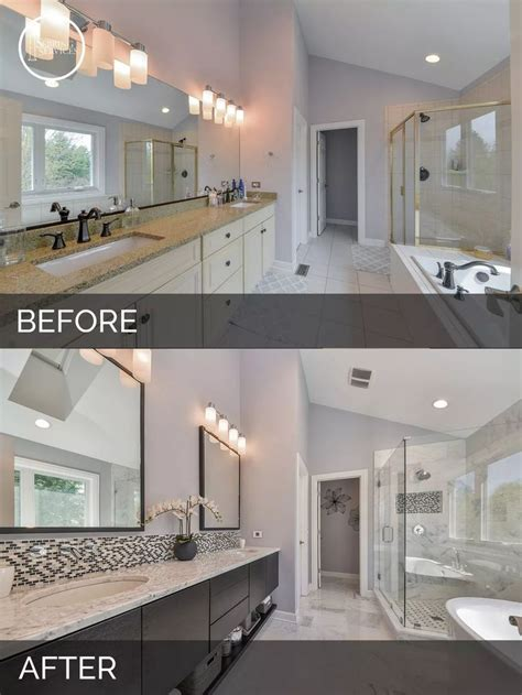 before and after master bathroom remodels best 25 bathroom before after ideas on pinterest