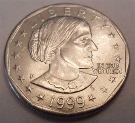 1999 p susan b anthony sba dollar coin sds free shipping