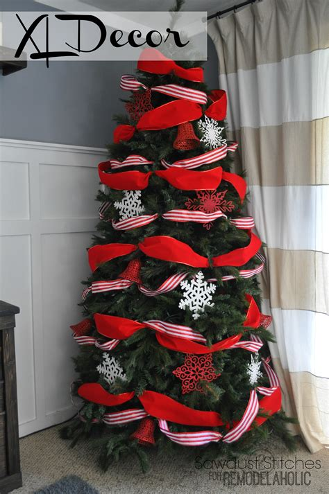 using ribbon to decorate a tree how to decorate a tree a designer look from the