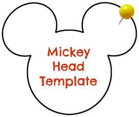 mickey mouse shape template diy disney personalized dcl stateroom magnets
