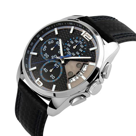 mortima casual leather water resistant 30m