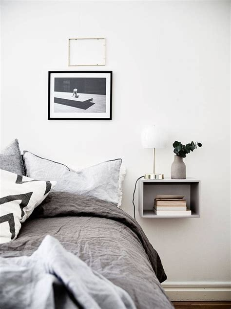 Grey Bedroom Shelves 35 Space Saving Wall Mounted Furniture And Decor Ideas