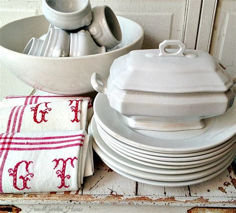 secret life  antiques collecting ironstone french