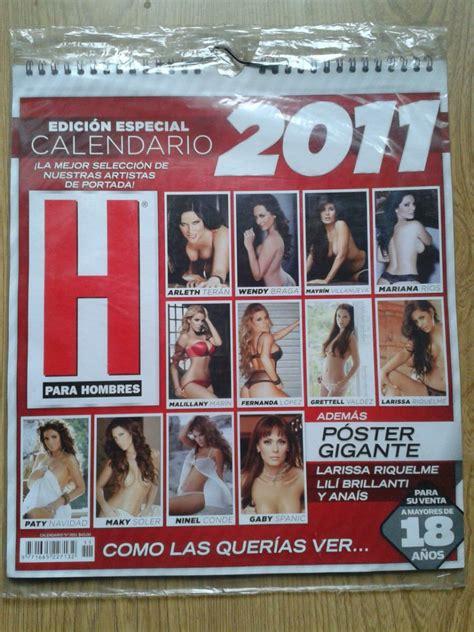 Calendario H Para Hombres 2010 Image Calendario 2010 De La Revista H Para Hombre Nuevo Y