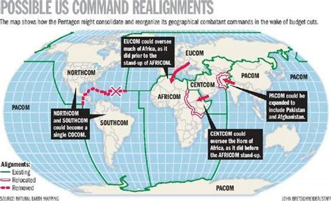 combatant command map combatant command shake up being considered sofrep
