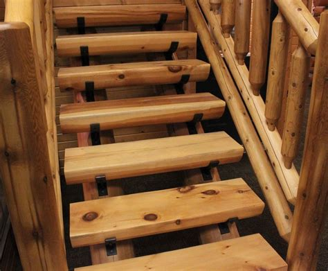 Log Cabin Stairs by Easy Log Staircase Stairway 36 Quot Wide Diy Kit 14 Treads