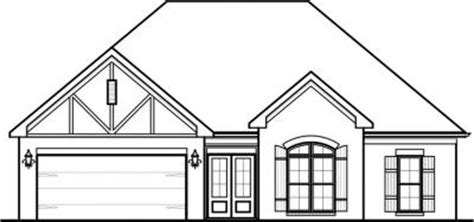 house plan front view house plans home plans by paul gilbert distincitve designs