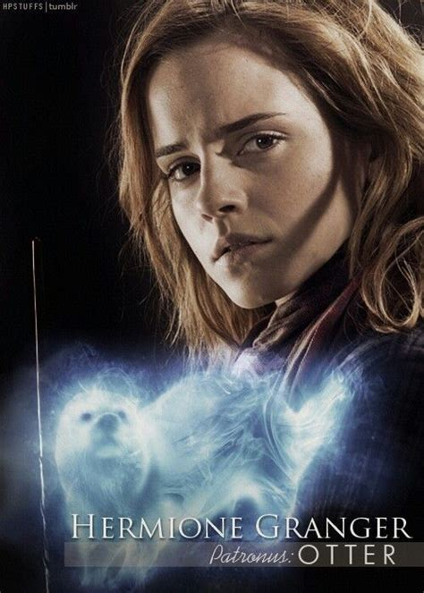 hermione jean granger hermione granger patronus otter hermione jean granger