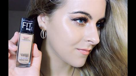 5 gorgeous skin in a jar maybelline fit me dewy smooth foundation