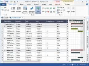 gant chart template gantt chart template matchware gt mindview