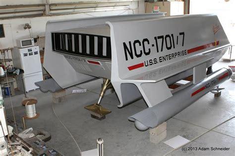 Backyard Stuff Unveiling The Restored Star Trek Galileo Shuttle Mightymega