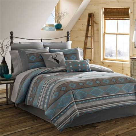 southwest comforter sets true timber southwest bedding comforter set teal
