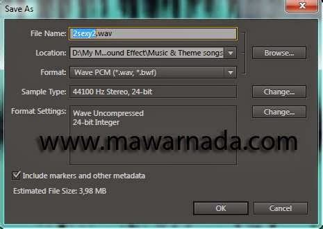 format gambar audio video merubah format audio wav menjadi mp3 dengan adobe audition