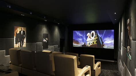 home theater hvac design james bond themed bespoke home cinema in cheshire