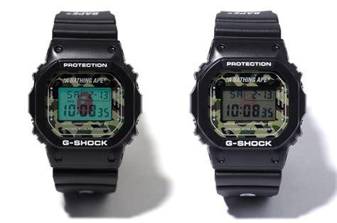 Casio G Shock Fullblack Edition Dw 5600bbn Original live photos g shock bape camo dw 5600e 1 casio