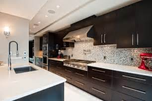 Espresso Cabinet Kitchen Kitchen With Espresso Cabinets Kitchen Ideas