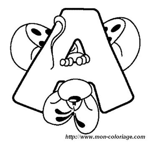 immagini diddl lettere colorare alfabeto diddl disegno lettera a diddl