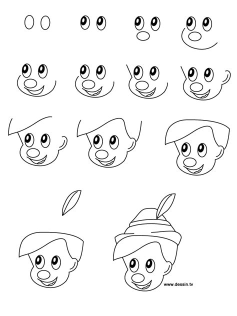 cartoon head drawing tutorial archives pencil drawing