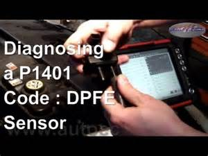 P1401 Ford How To Diagnose And Repair A P1401 Code Dpfe Sensor