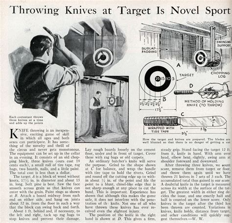 throw a knife how to throw knives