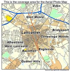 lancaster map aerial photography map of lancaster pa pennsylvania